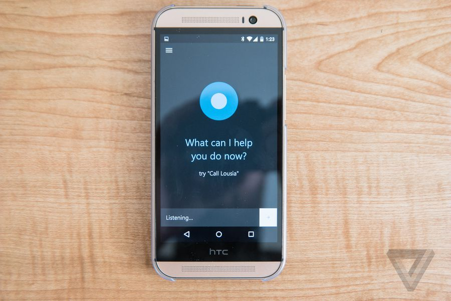 Cortana for android screenshots the verge