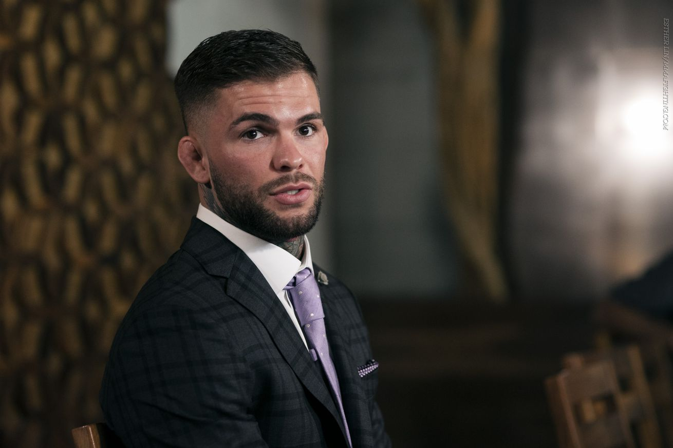 community news, Cody Garbrandt: Dominick Cruz 'loses everything' if he fights me