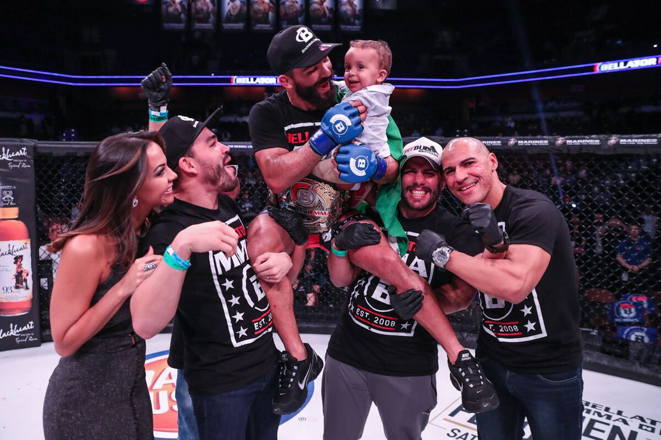 Patricio Freire fined $2,500 for climbing on cage after Bellator title win