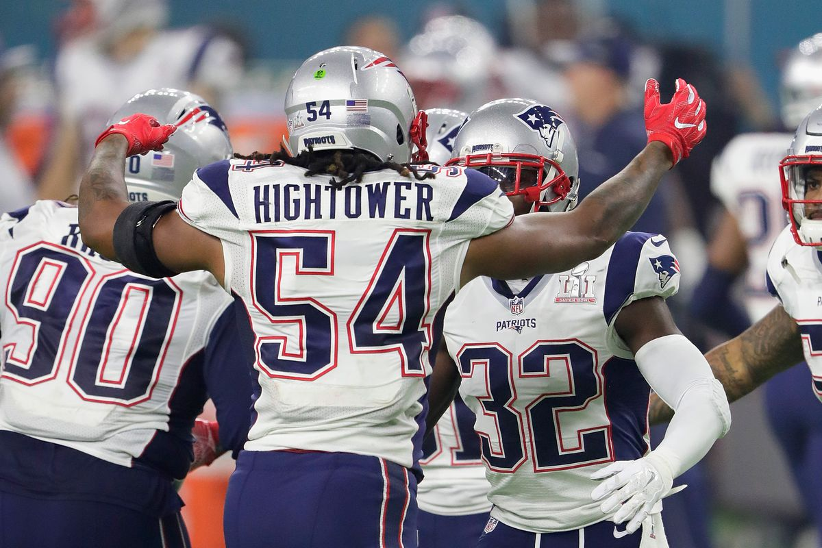 LB Hightower returns to Patriots on $43.5M deal