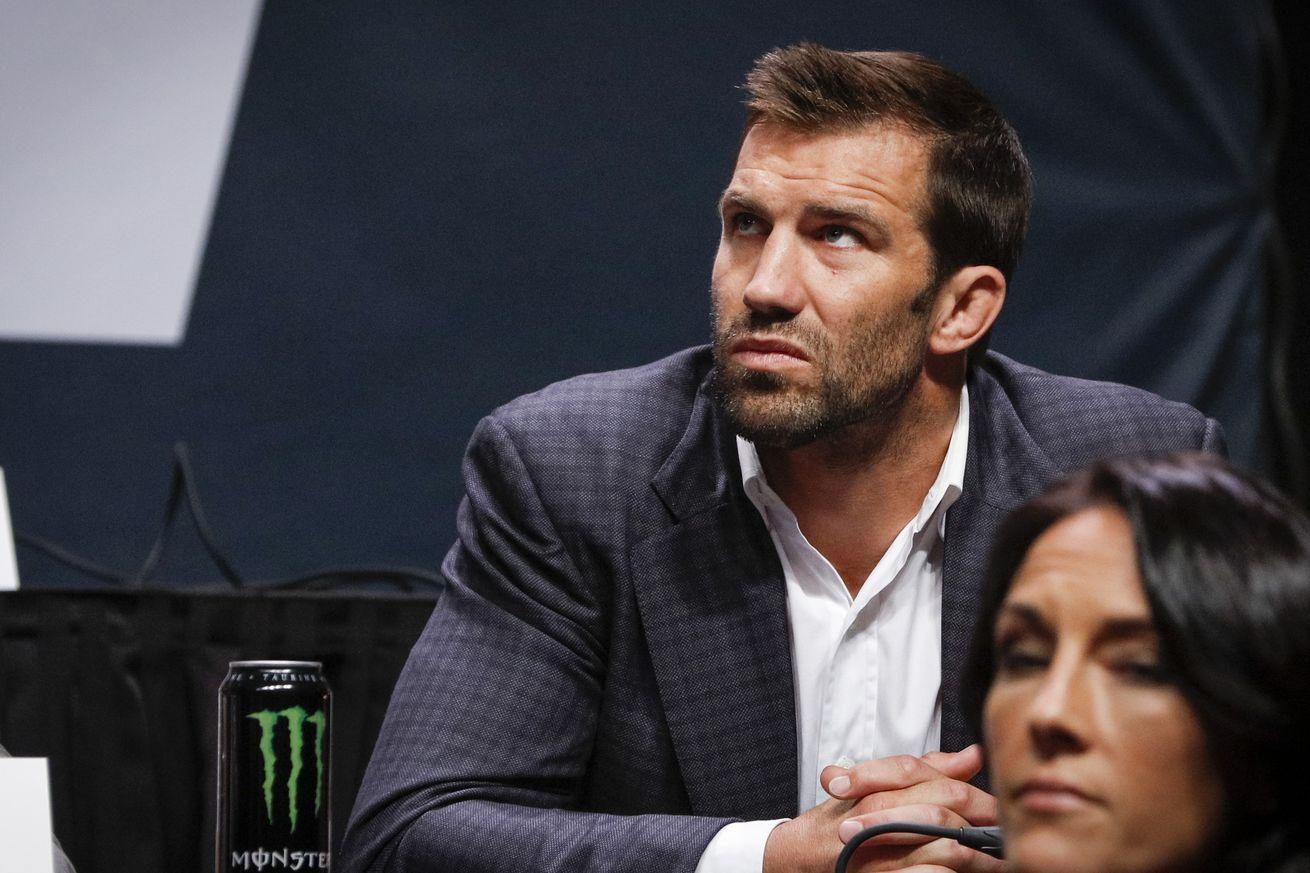 Luke Rockhold still wants 'Jacare' Souza fight when he returns from knee surgery