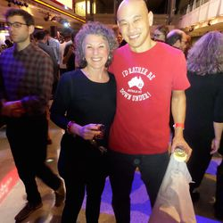 Event founder Amy Bartscherer and Kyirisan's Tim Ma
