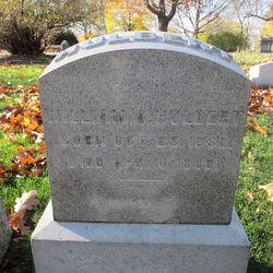 Hulbert's headstone