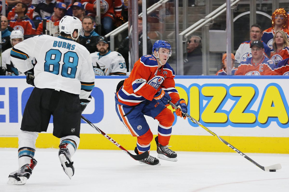 Oilers defence stepping up in Sharks series