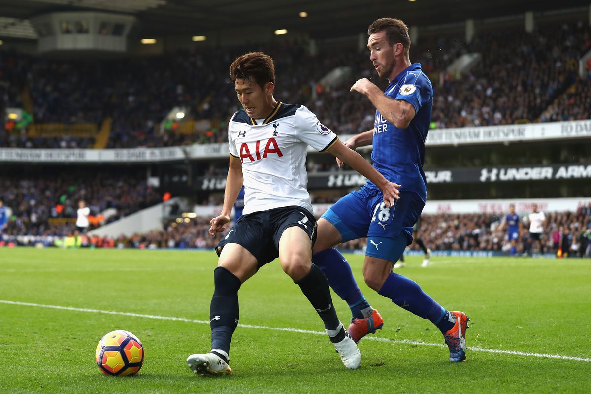 Harry Kane scores four goals as Tottenham rout Leicester City