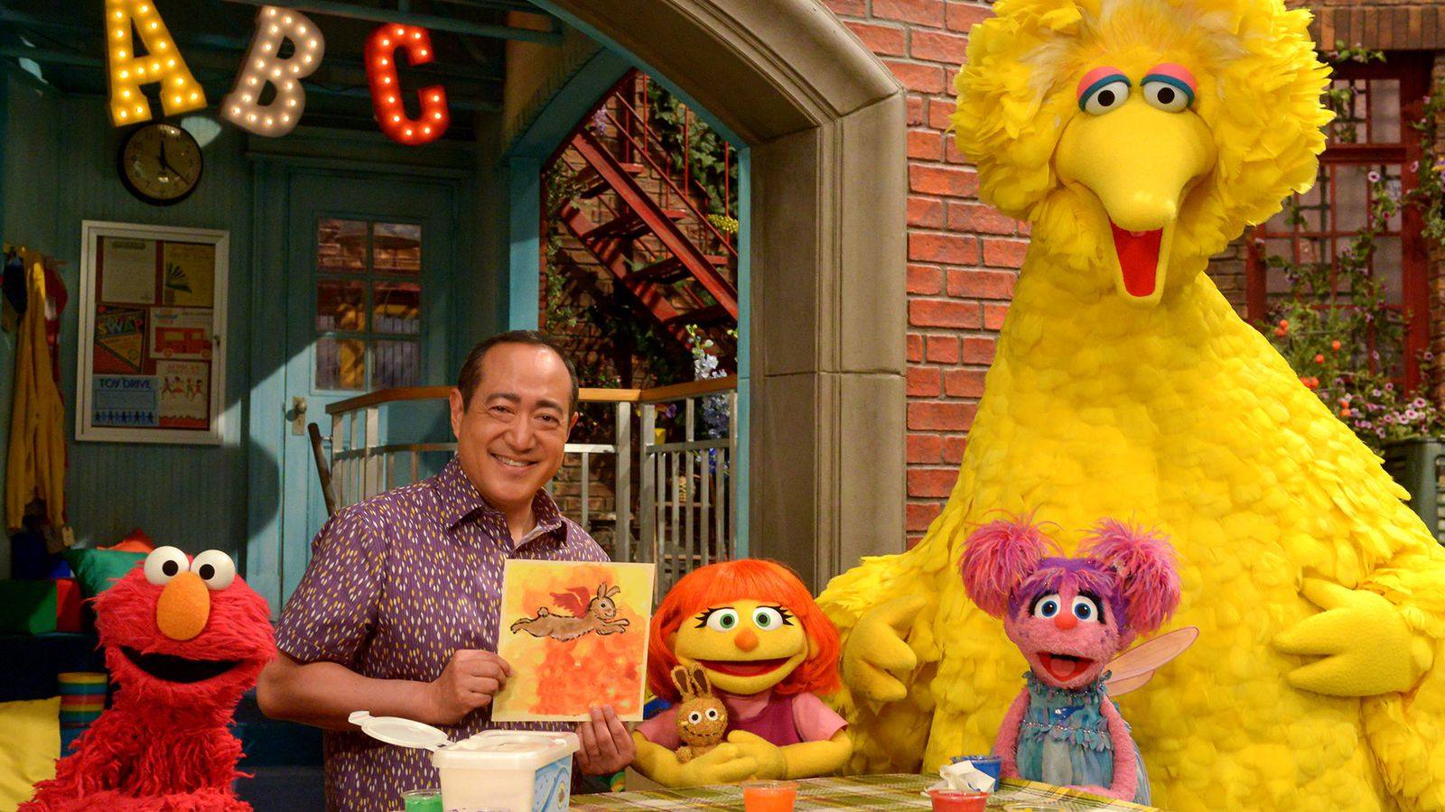 photo image Sesame Street's new Muppet with autism is part of the show's bigger, empathic agenda