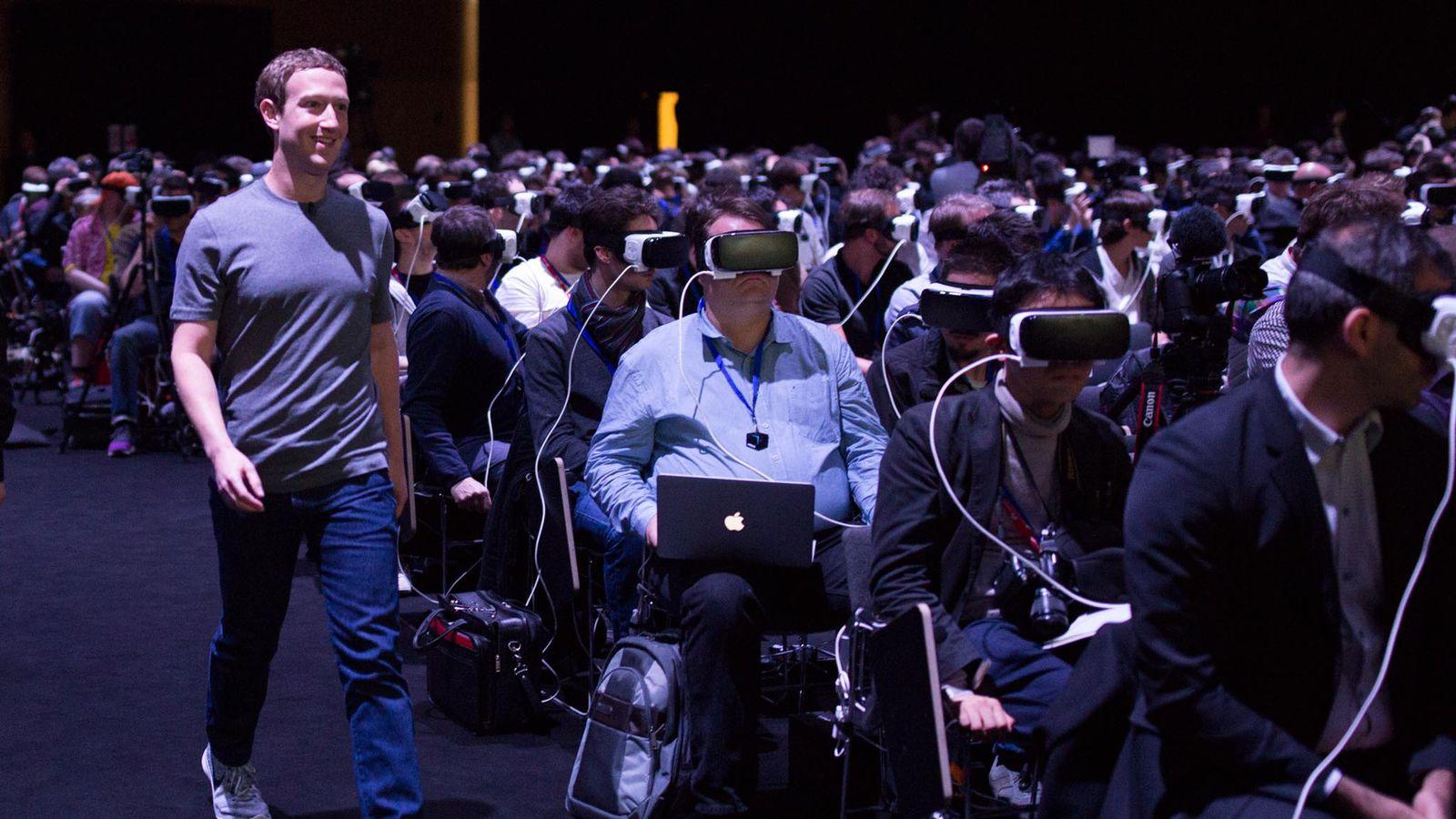 mark zuckerberg vr ile ilgili görsel sonucu
