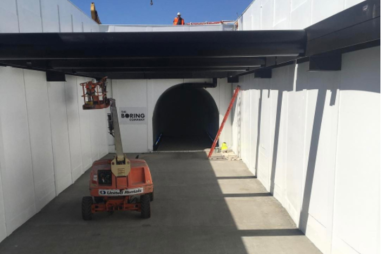 Elon Musk's new video of his underground tunnel project will make you nauseated