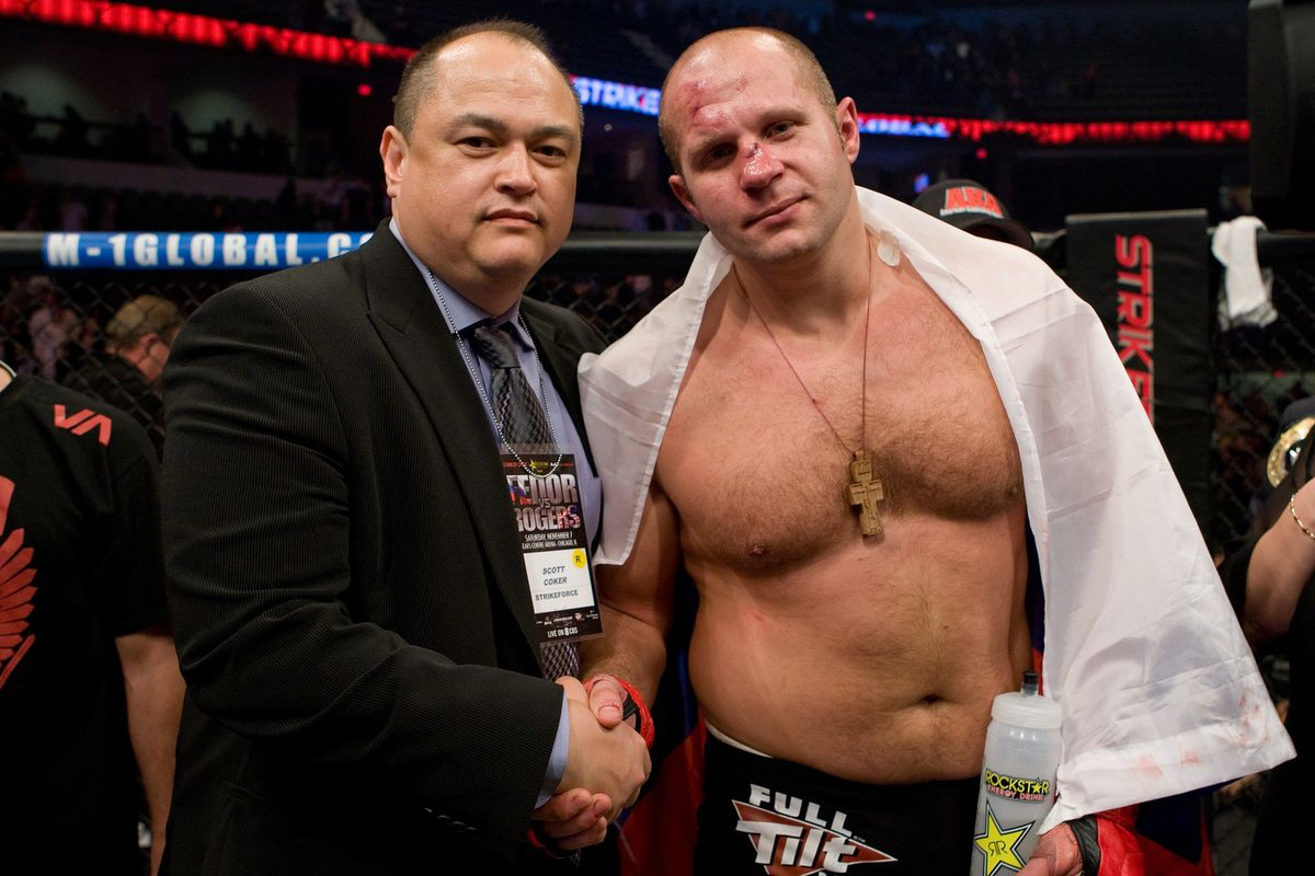 Fedor Emelianenko Vs Matt Mitrione Reeboked For Bellator 180 PPV
