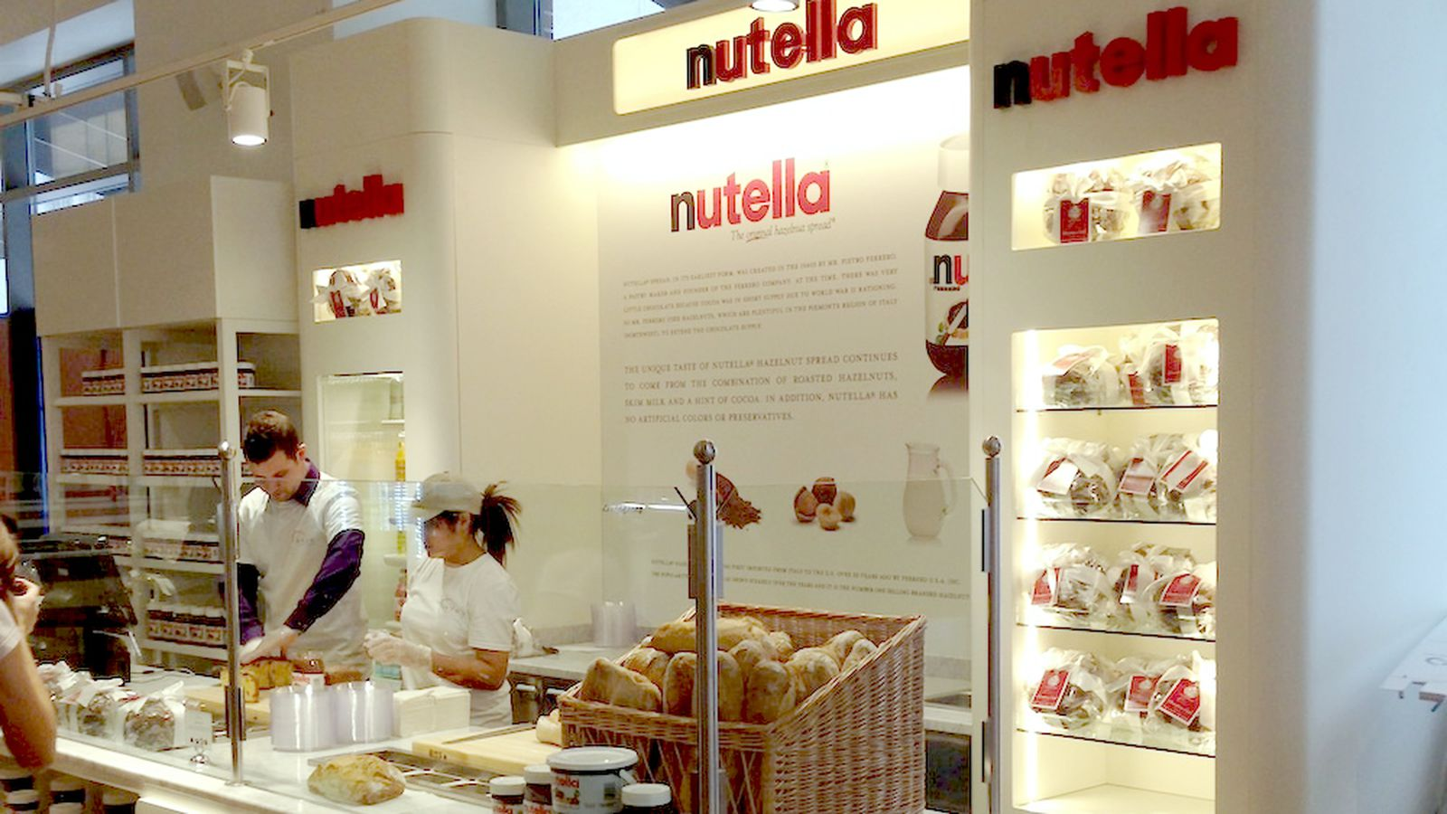 Image result for nutella cafe NYC