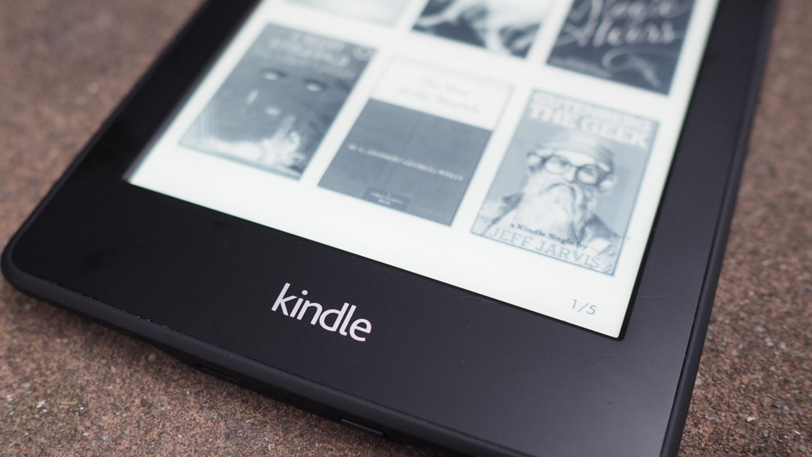 User manual video Kindle paperwhite 7th Generation
