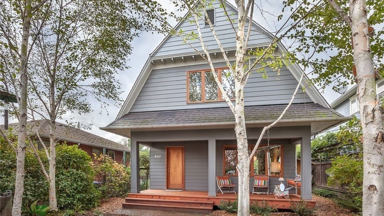 Modern dutch colonial urban retreat lists for 759k for Dutch colonial house for sale