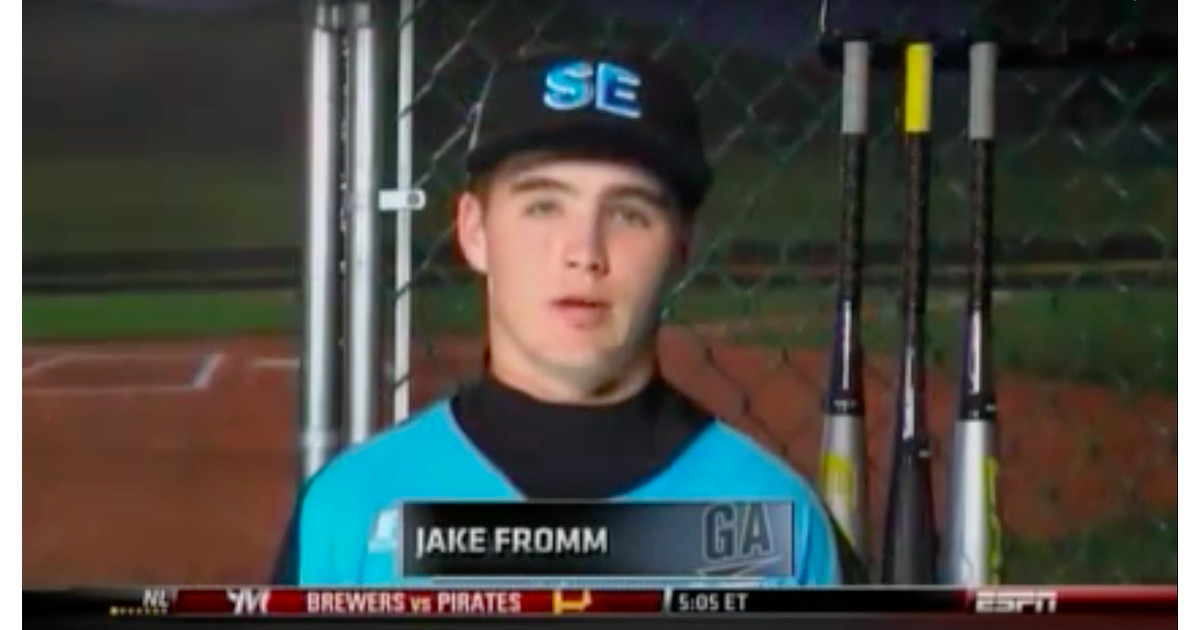 New Uga Qb Jake Fromm Was A 2011 Little League World