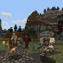 skyrim minecraft pack out today for xbox 360   polygon