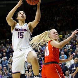 UConn's Gabby Williams (15)