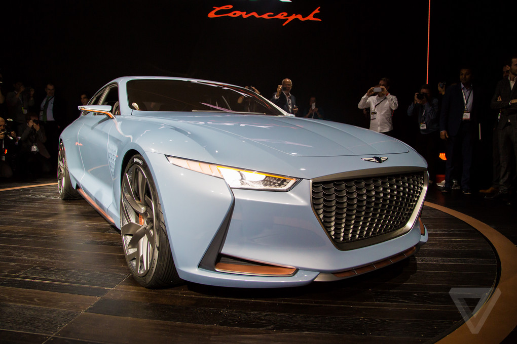 Genesis Ny Concept Future Bmw Rival: Can This Genesis Concept Car Attract 3 Series Owners BMW