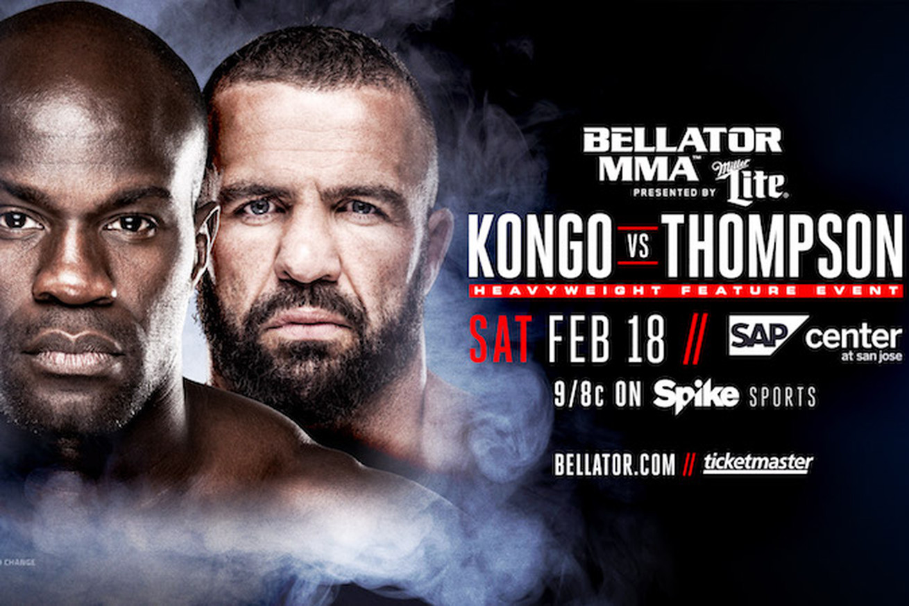 community news, Bellator 172: Cheick Kongo vs Oli Thompson joins Fedor vs Mitrione line up in San Jose
