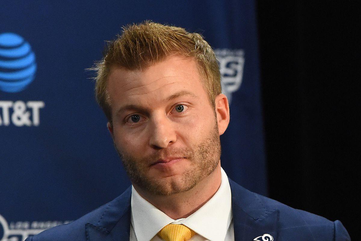 LA Rams HC Sean McVay ...