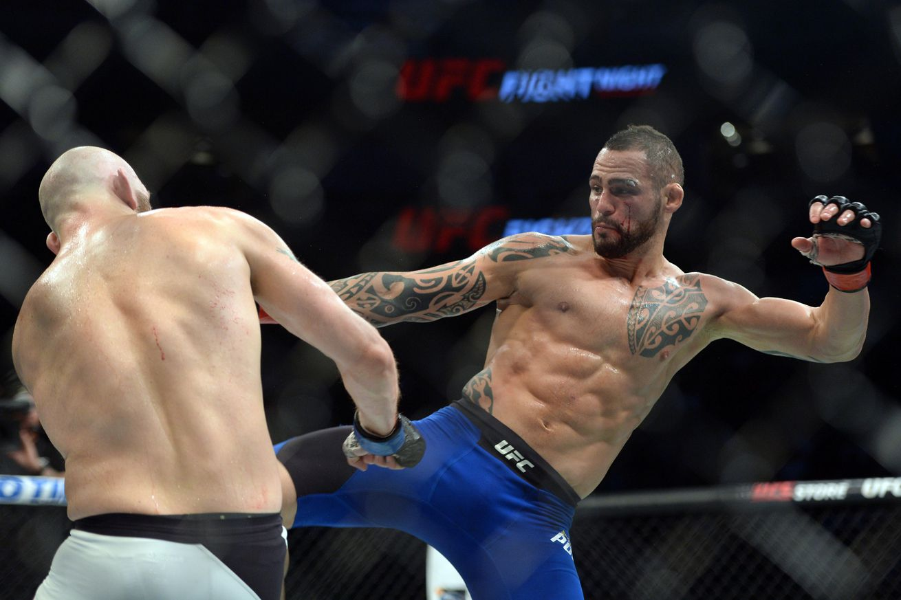 community news, UFC Fight Night 92 results from last night: Santiago Ponzinnibio vs Zak Cummings fight review, analysis
