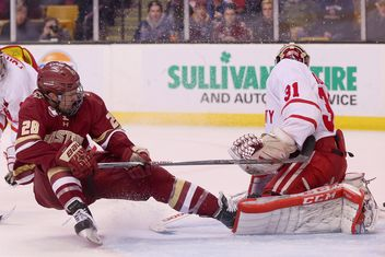Hockey East: BC's Wood Suspended By Hockey East