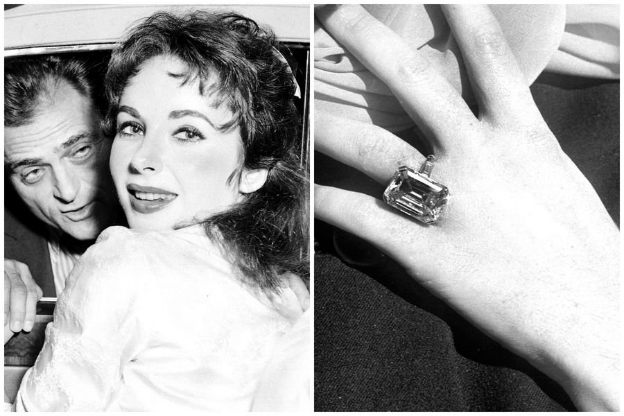 Of The Many Many Engagement Rings Elizabeth Taylor Received In Her