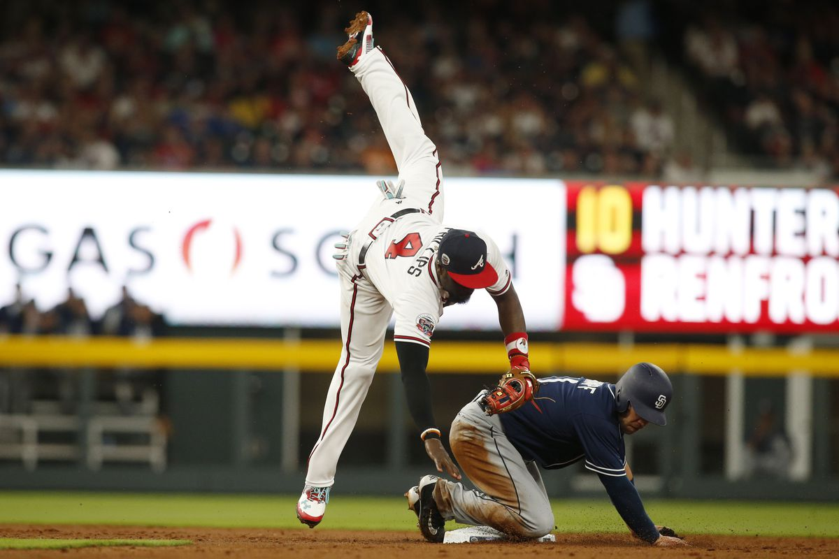 Ender Inciarte christens SunTrust Park with its first home run