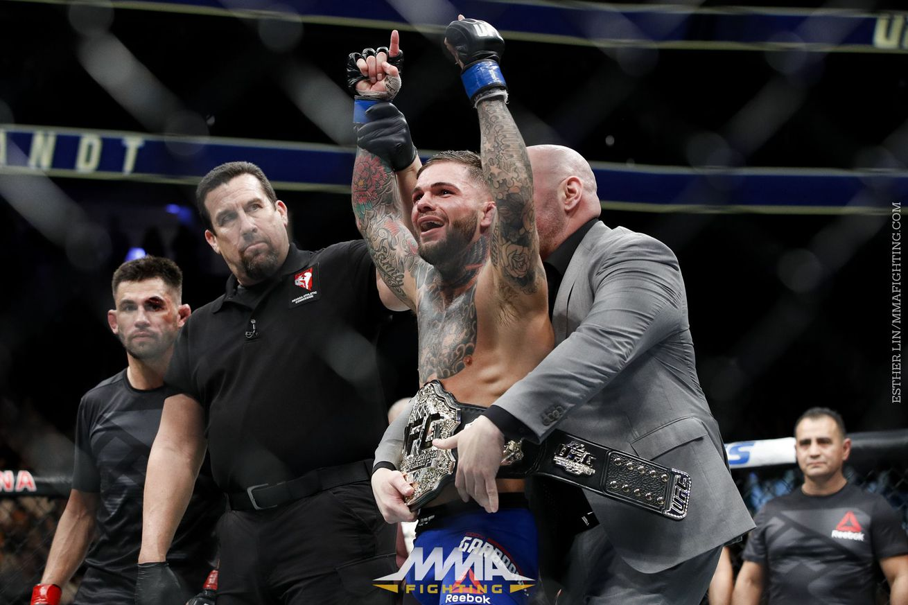 community news, Video: Cody Garbrandt wants to defend title, but open to Jose Aldo and Conor McGregor fights