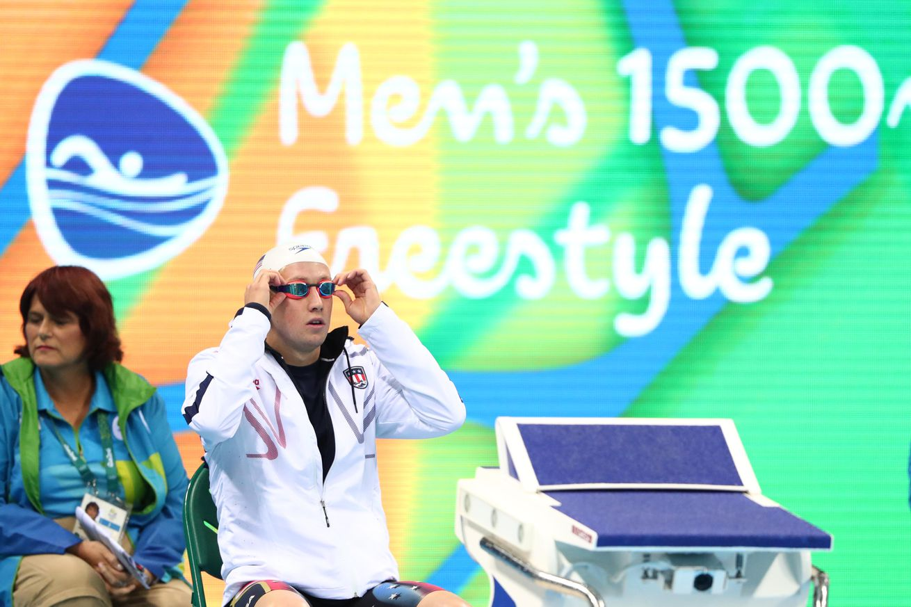 Swimming - Italy's Paltrinieri wins 1500m freestyle