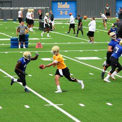 2017 UCLA Football Fall Training Camp Practice #1