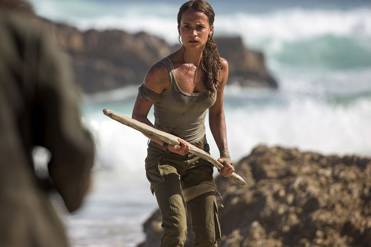 Alicia Vikander's Lara Croft looks just like the new Tomb ...