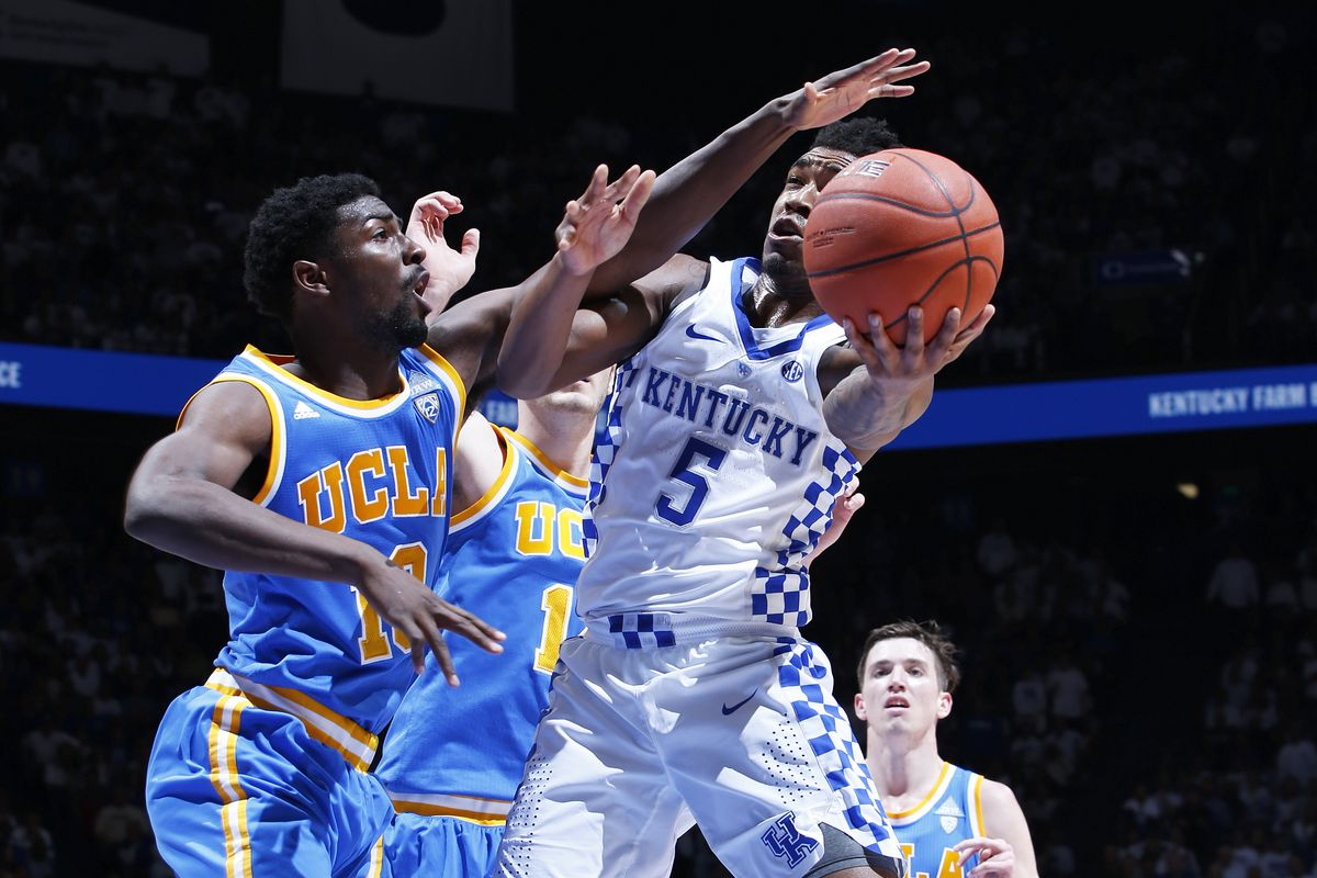 UK Hoops holds off Belmont. 73-70
