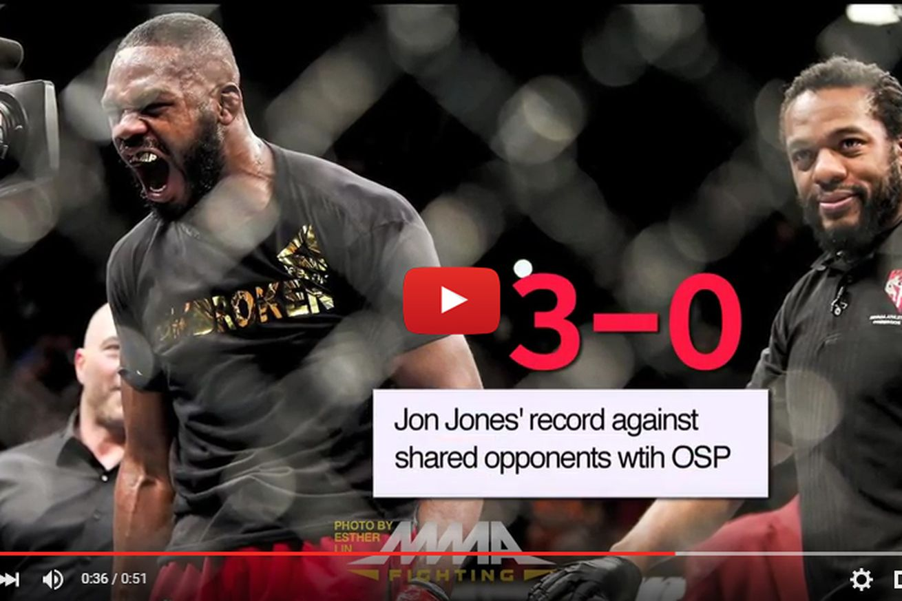 UFC 197: Jon Jones vs Ovince Saint Preux Tale of the Tape fight video preview
