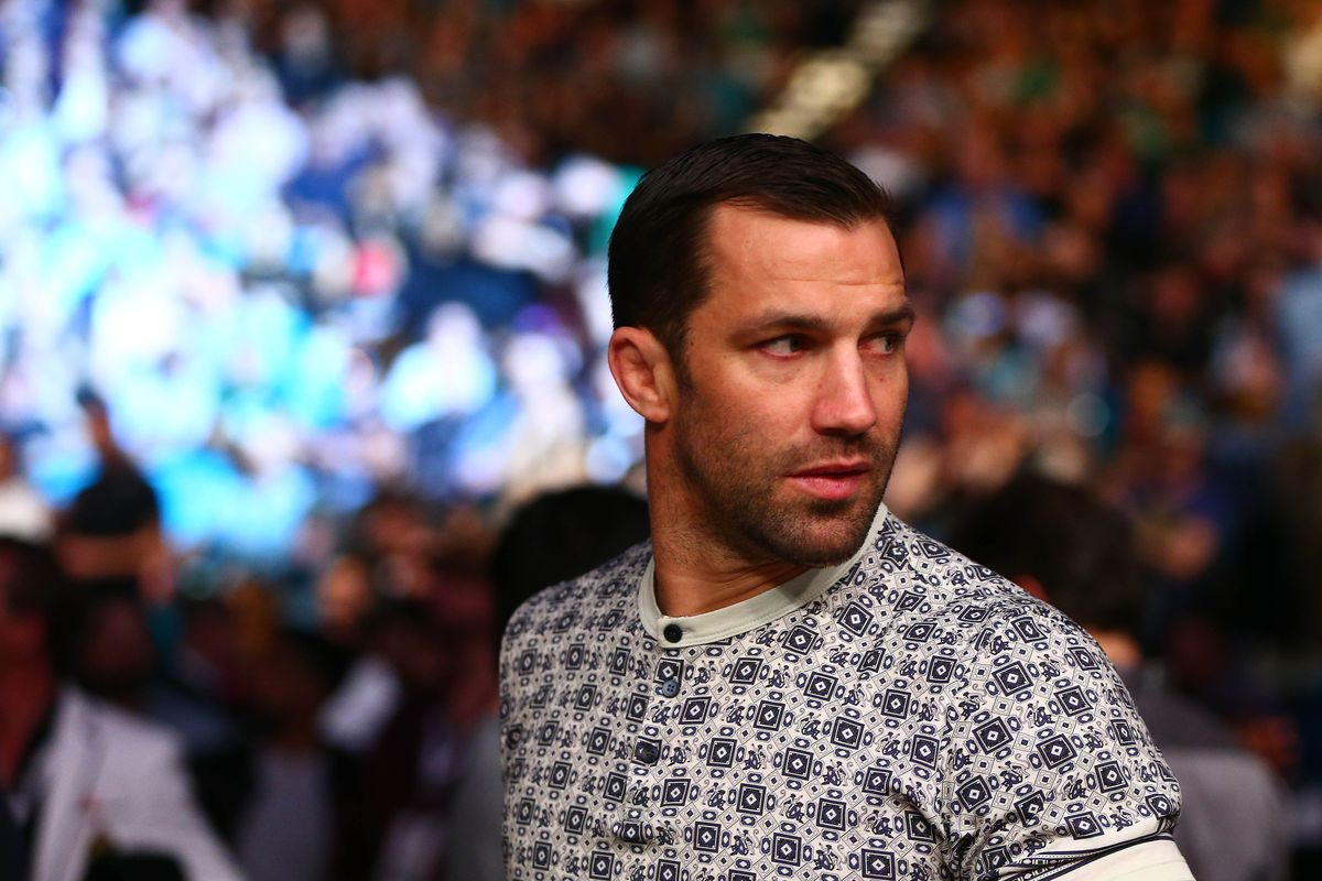 Luke Rockhold: Michael Bisping vs. Georges St-Pierre 'cheapens belt'