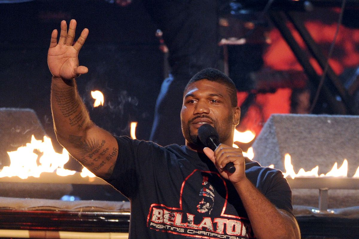 Quinton 'Rampage' Jackson Regrets Choosing Fighting Over Family