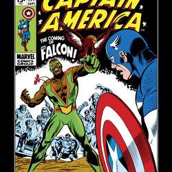 Captain America 1968 #117 / Comic book / Published 10 September 1969<br> © 2017 MARVEL<br><br><br><br>