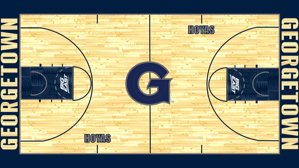 Here Is Georgetown 39 S New Basketball Court Casual Hoya