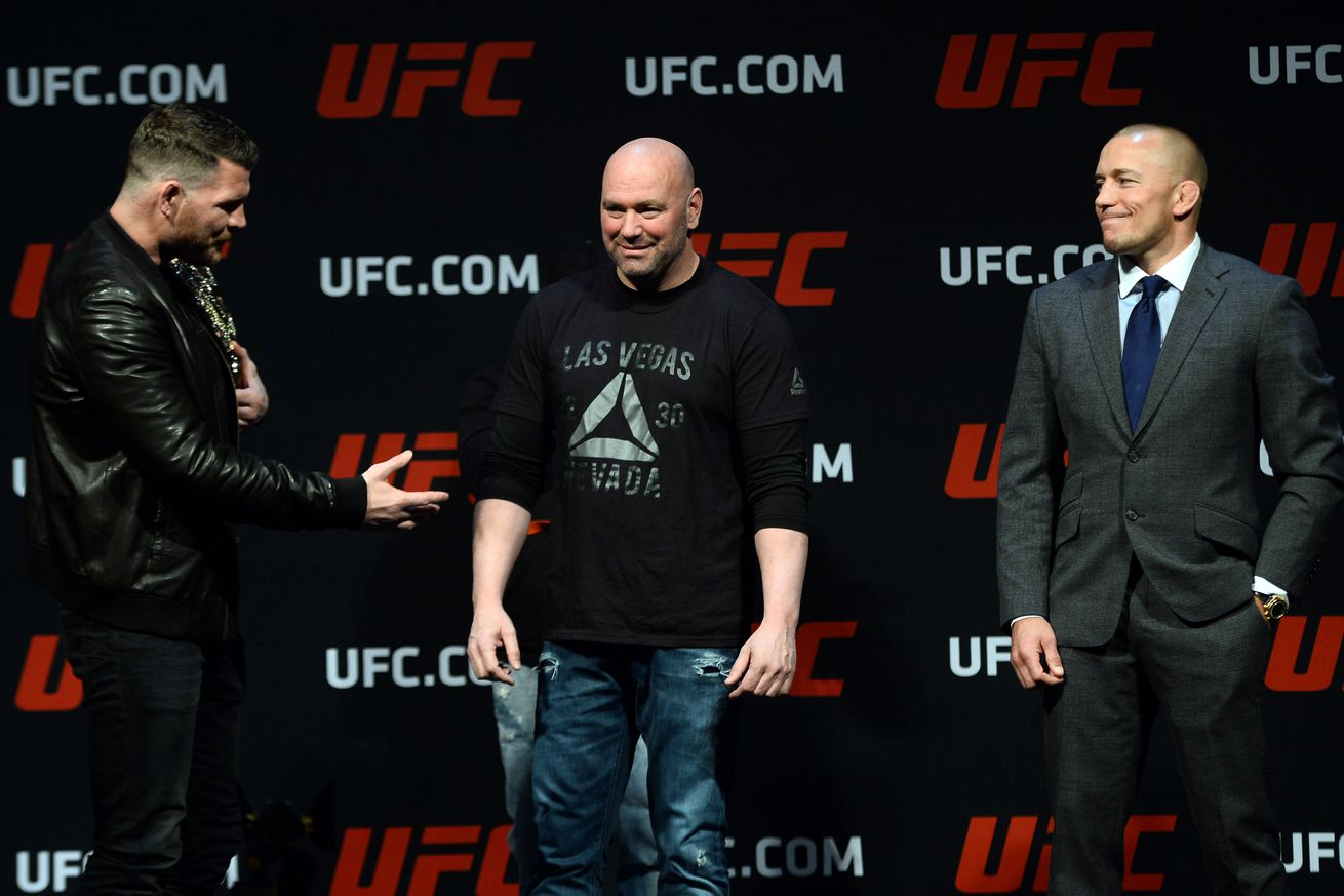 Dana White cancels Georges St Pierre vs Michael Bisping, awards Yoel Romero next middleweight title shot
