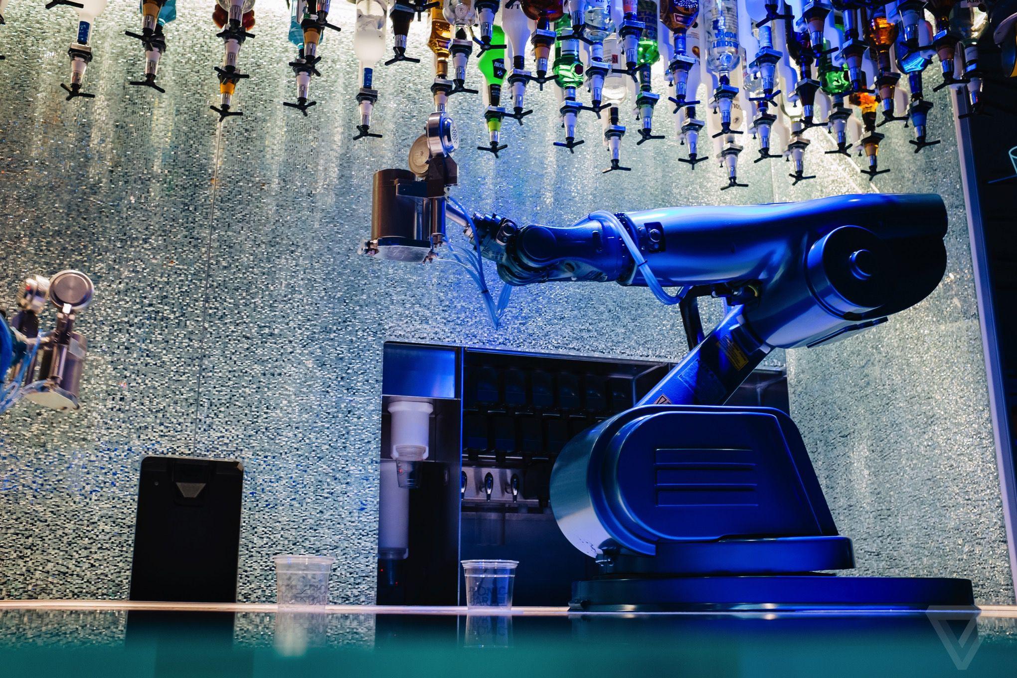 Quantum Of The Seas Robot Bartender