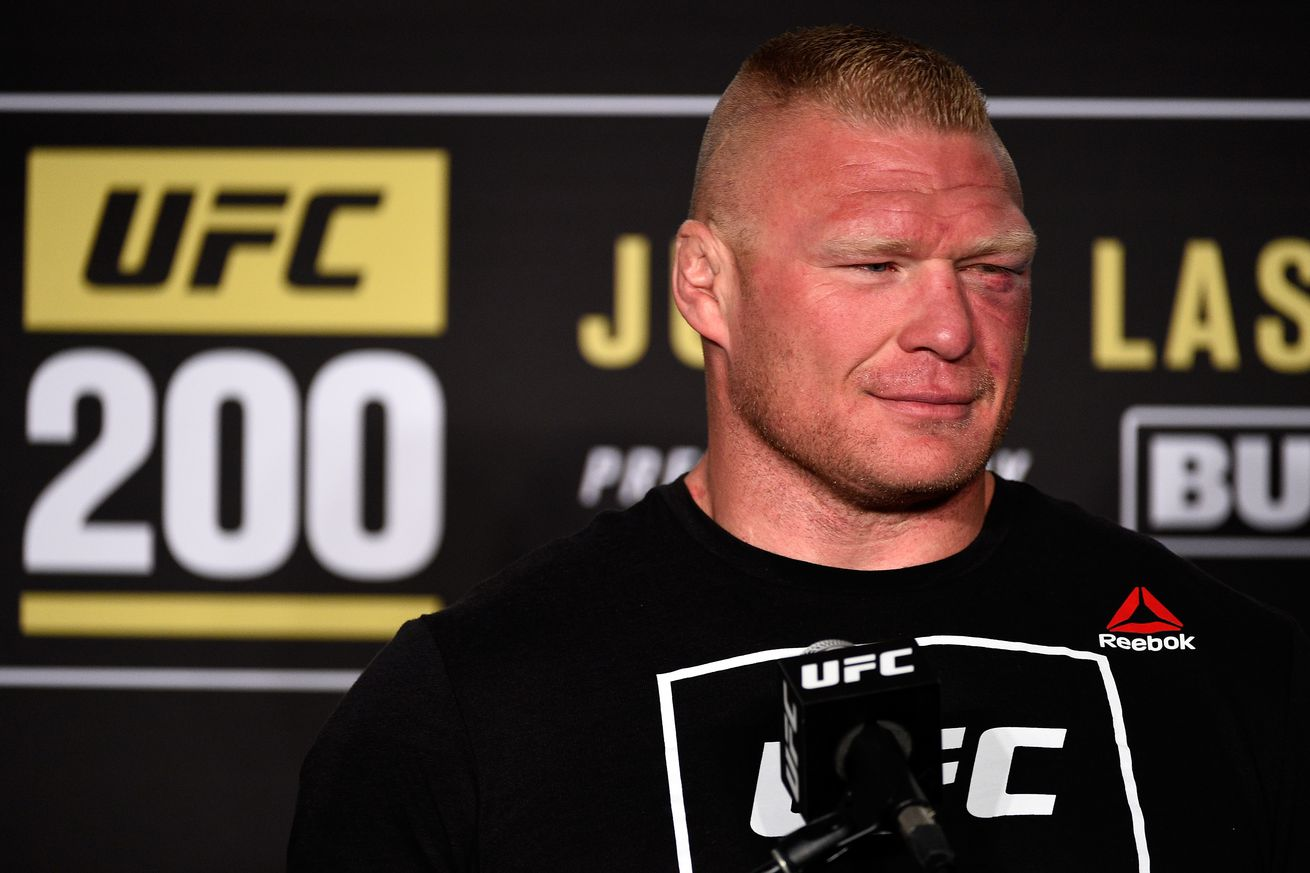 community news, Brock Lesnar suspended one year by USADA for UFC 200 drug test fiasco