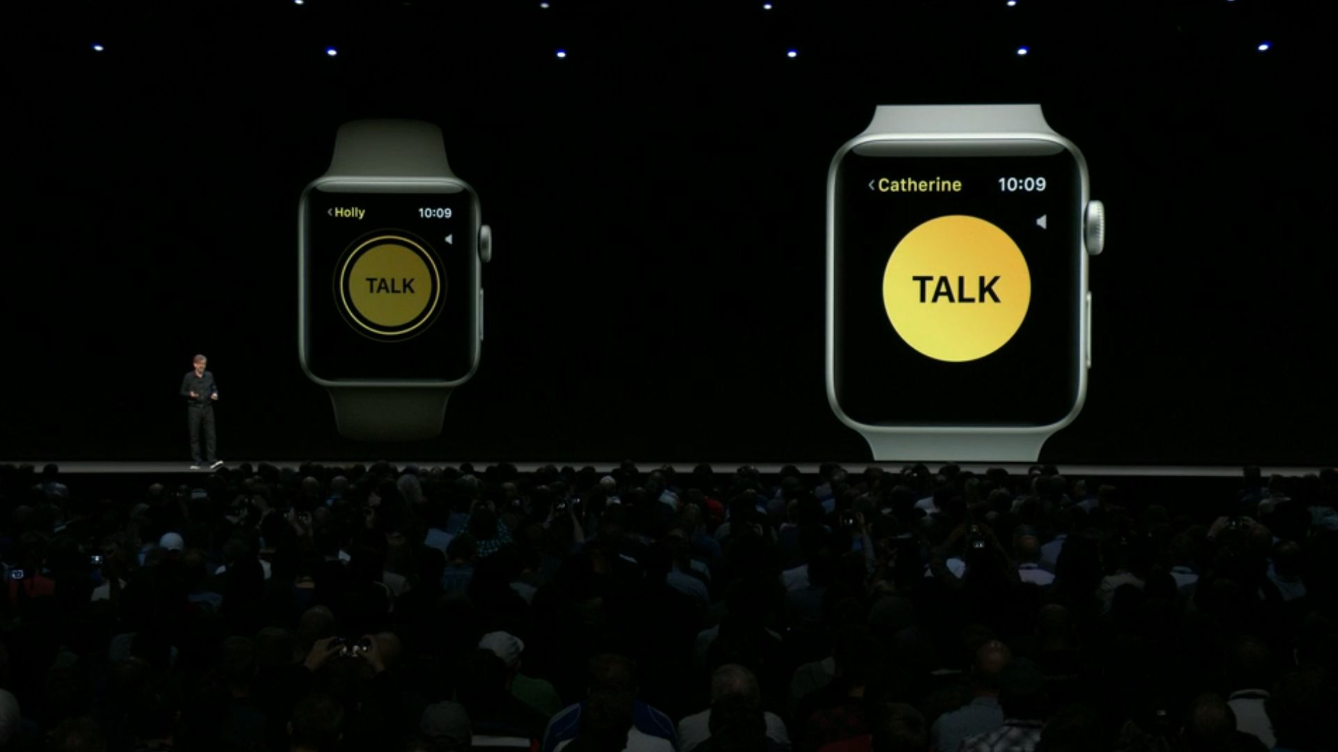 Walkie-Talkie on the Apple Watch is a clever riff on