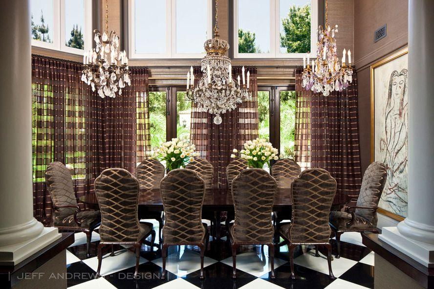 tour kris jenner 39 s redesigned mansion racked. Black Bedroom Furniture Sets. Home Design Ideas