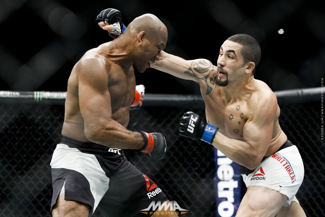 community news, After huge win, Robert Whittaker says he's on his title run: 'I want that belt'