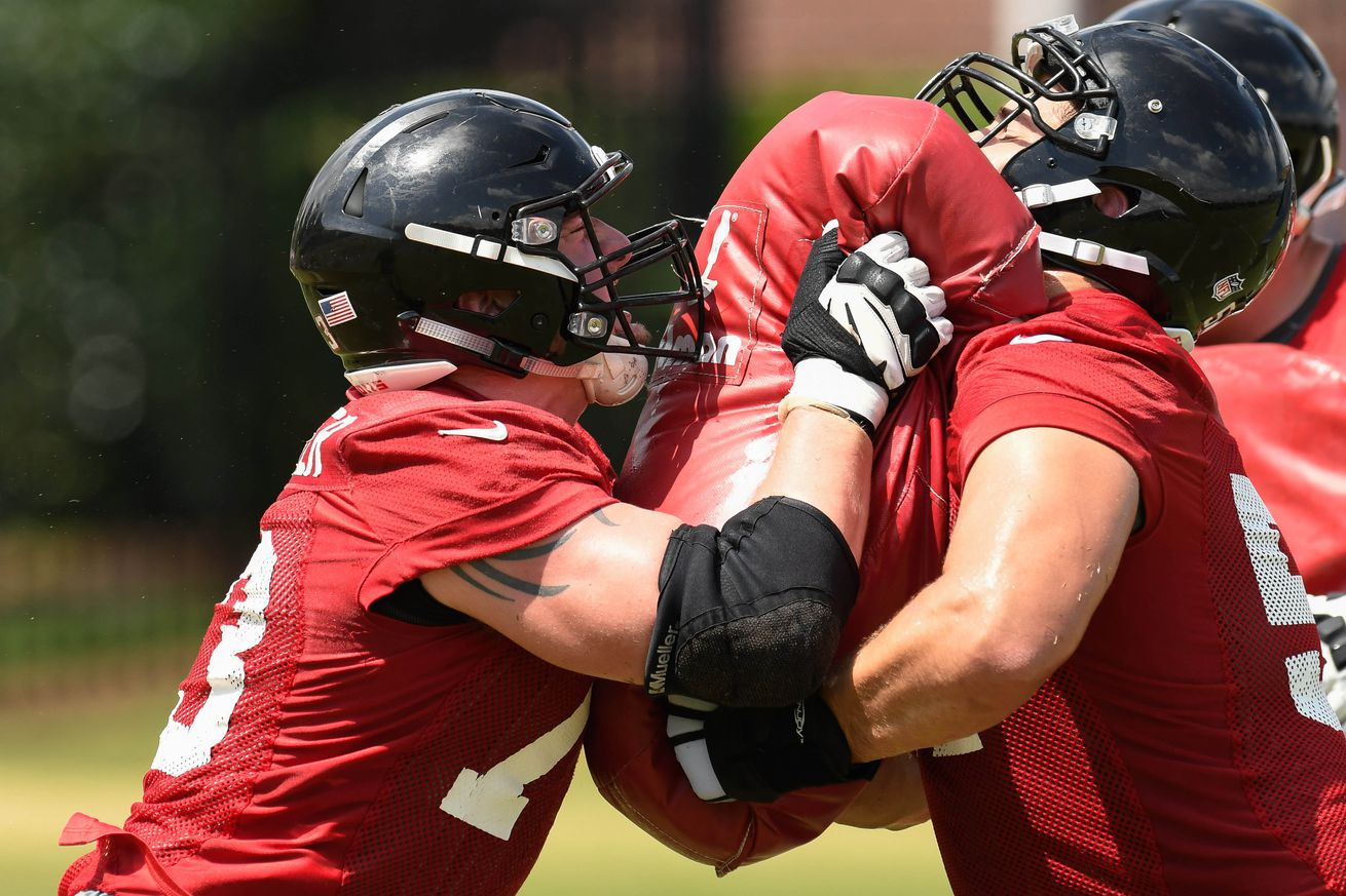 Jerseys NFL Sale - How will the Falcons offensive line shake out in 2016? - The ...