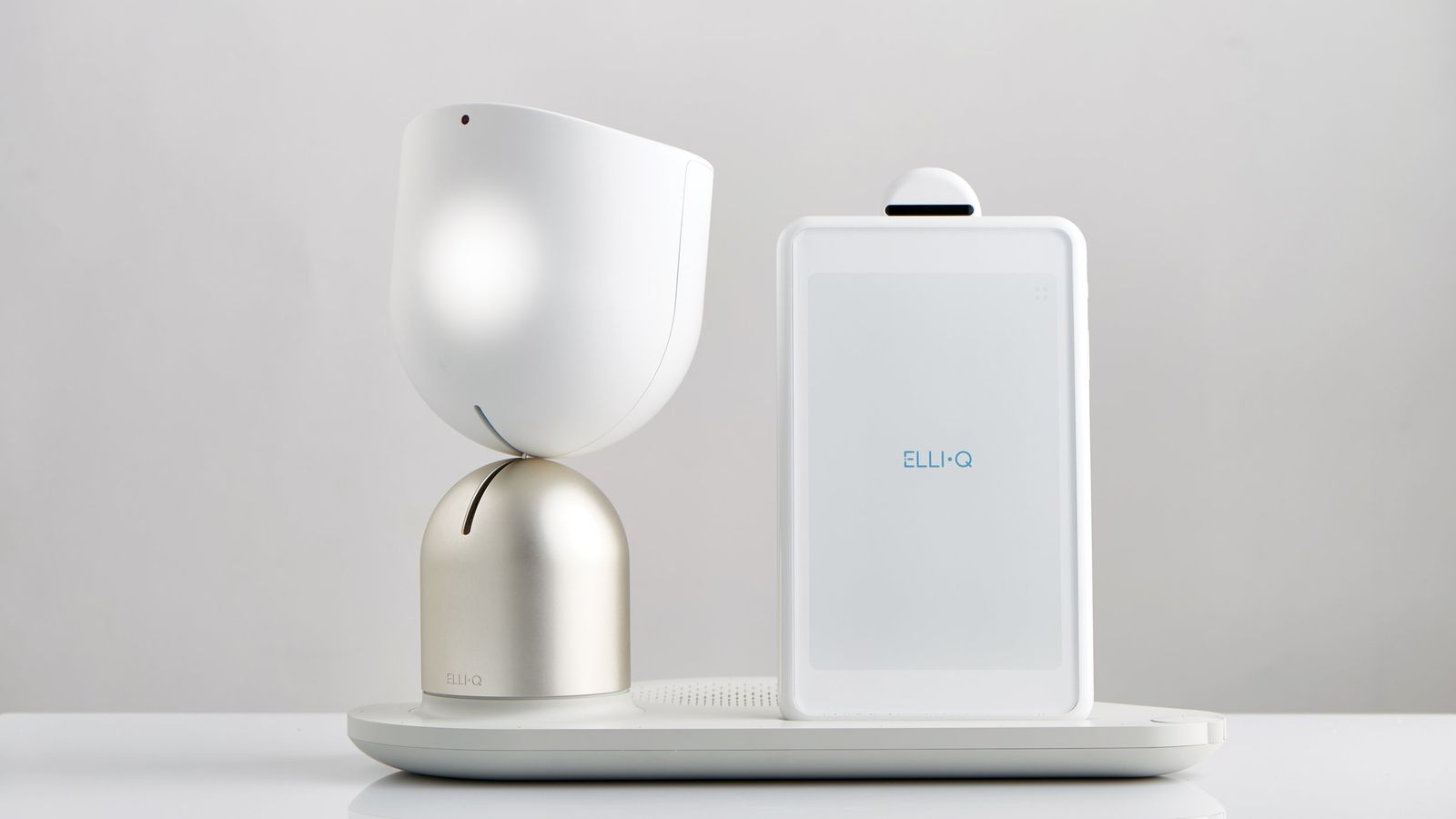 ElliQ is a Friendly Shaped Amazon Alexa for the Elderly