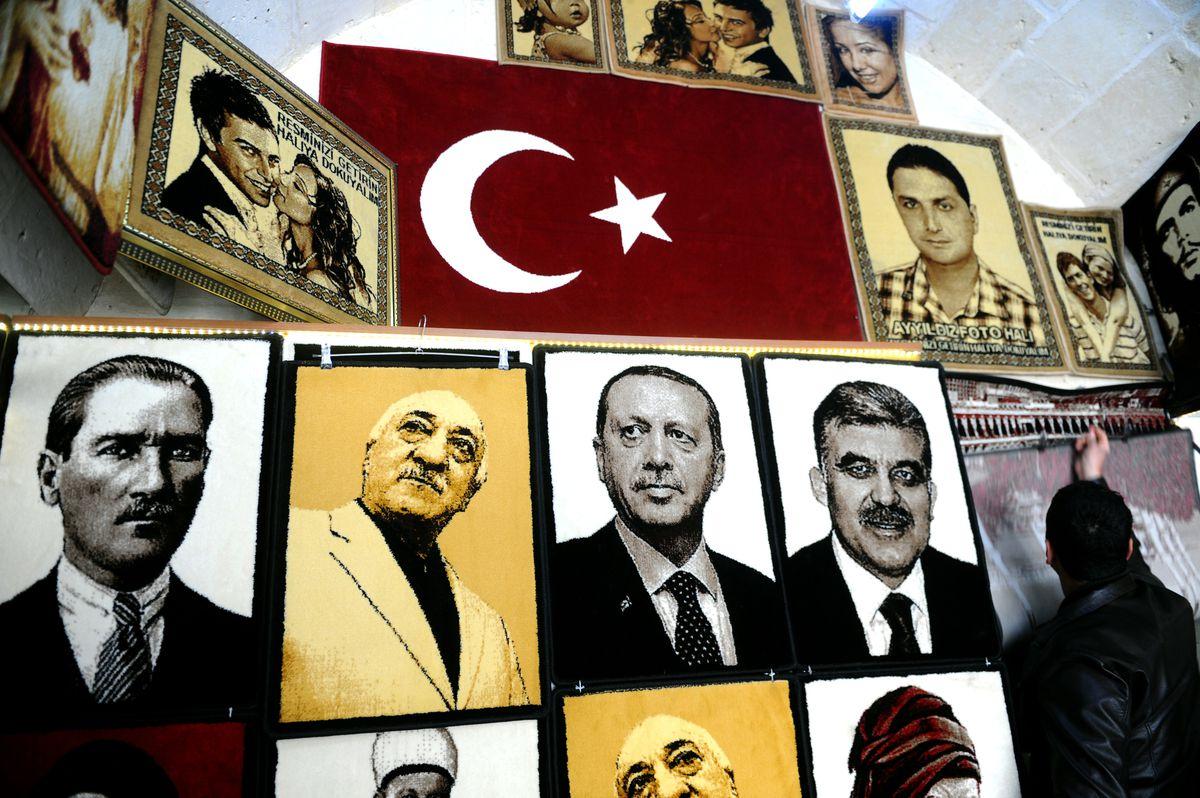 Gulen, Erdogan, and Ataturk