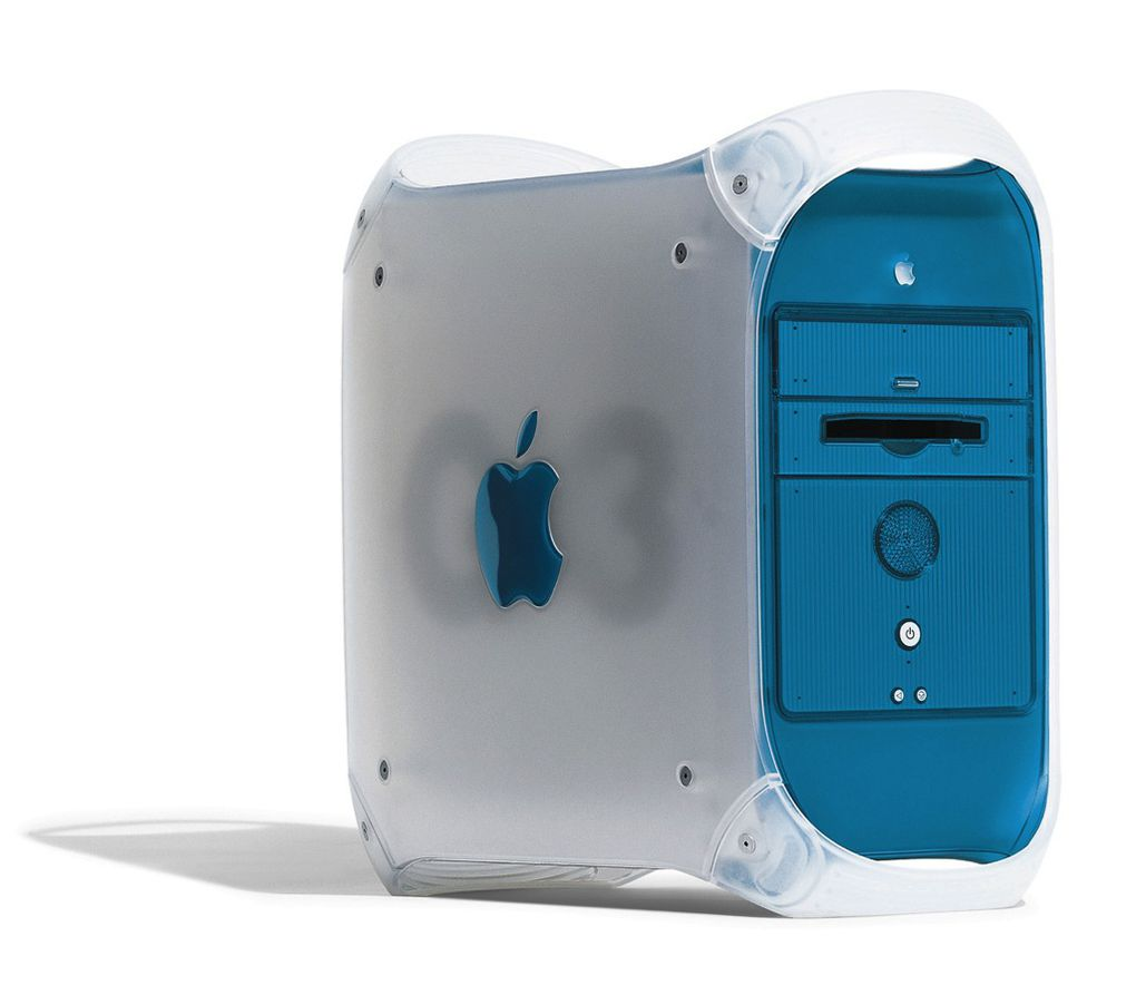 the mac turns a visual history the verge 1999 blue power mac g3