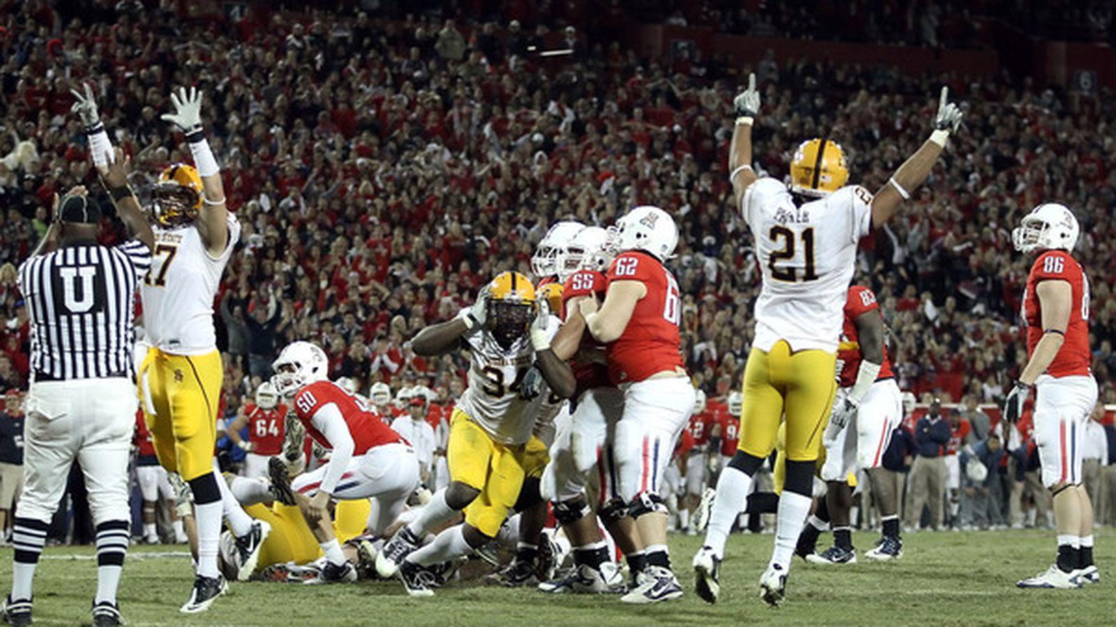 ASU Beats UofA: Which Win Was Bigger, Football In 2010 Or ...
