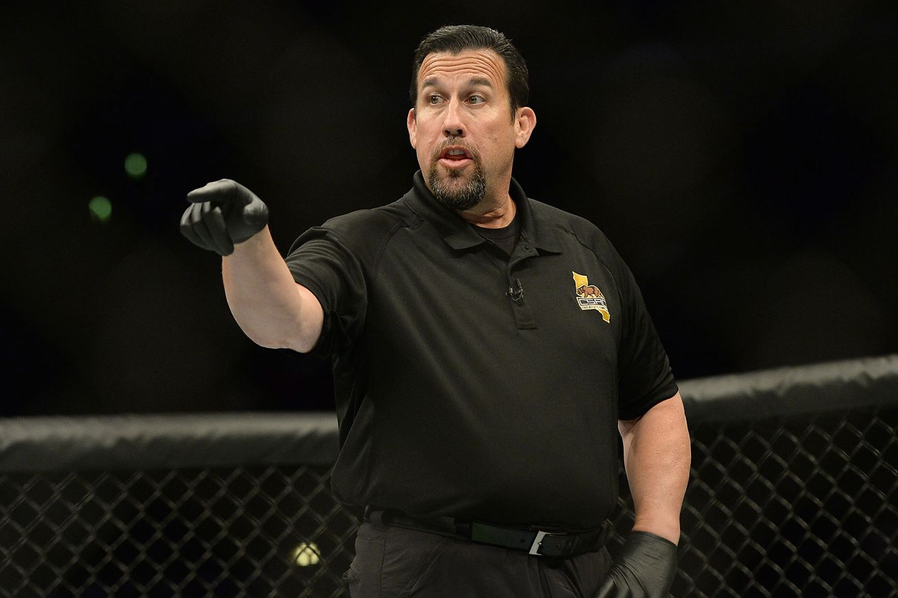 John McCarthy to referee Tito Ortizs final fight tonight at Bellator 170