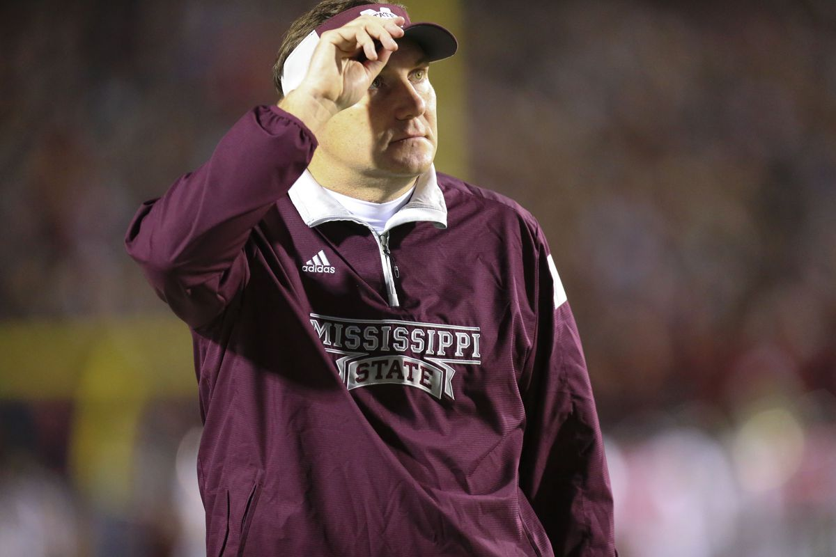 mississippi state s dan mullen calls dc geoff collins leaving for spruce derden usa today sports