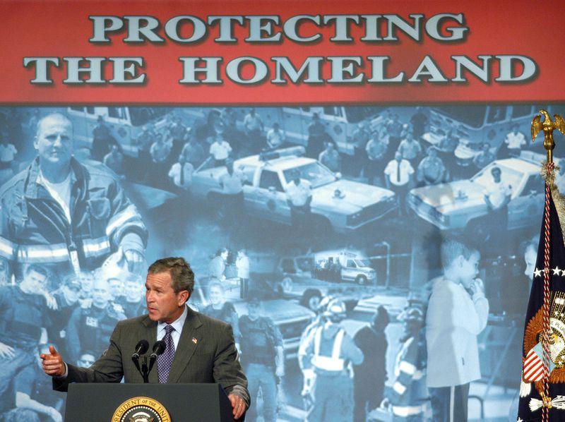President Bush Makes Remarks On The Patriot Act
